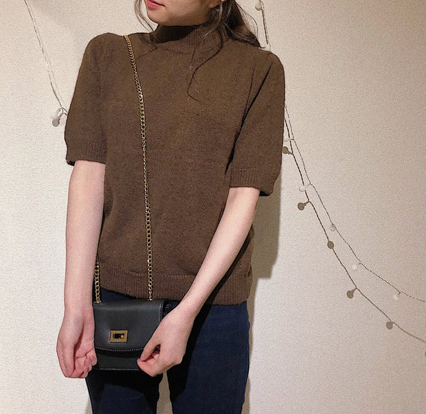 wool knit tops・全4色