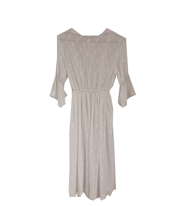 white gown one-piece・全1色