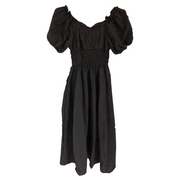 puff sleeve one-piece・全1色