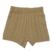 cable knit short-pants・全2色