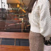 balloon sleeves knit・全3色