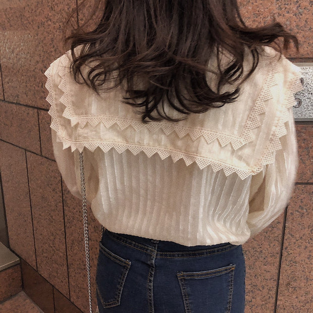 classical collar blouse・全1色