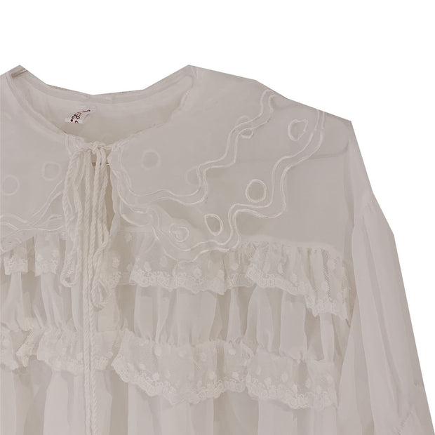 frill point blouse・全1色