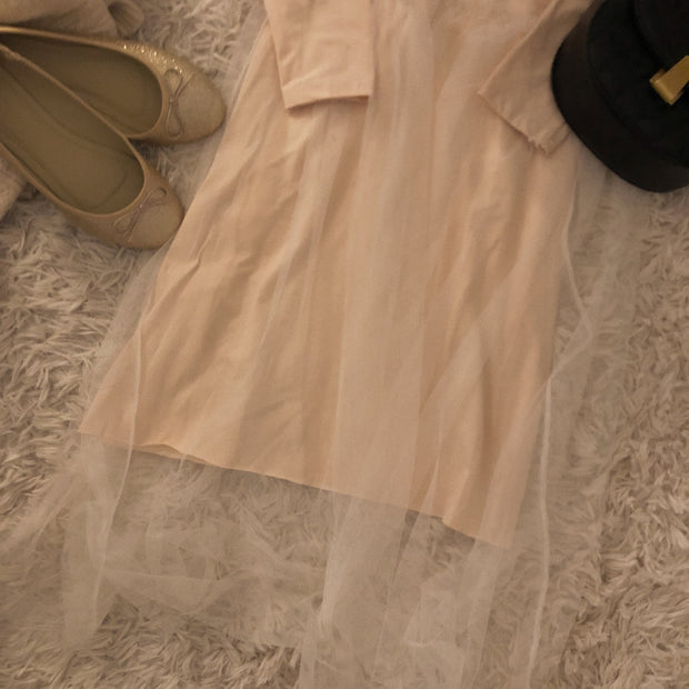 【2set】girly chiffon coordinate