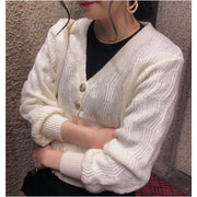 classical short cardigan・2colors