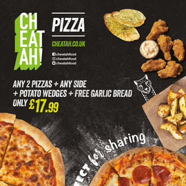 Purrfect for sharing (Deal for 2) - CHEATAH