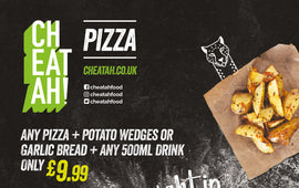 The cheeky night in (Deal for 1) - CHEATAH