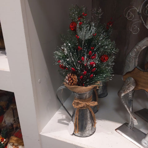 "18"" Christmas Berry/Bell/Pinecone"