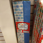 Tissue Paper Christmas 8 Sheet Asst 4pc Print/4pc Solid