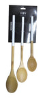 3 Piece Bamboo Spoon Set