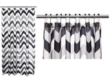 Polyester Barry Shower Curtain + Hook Set