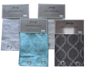 Judy Curtain light grey