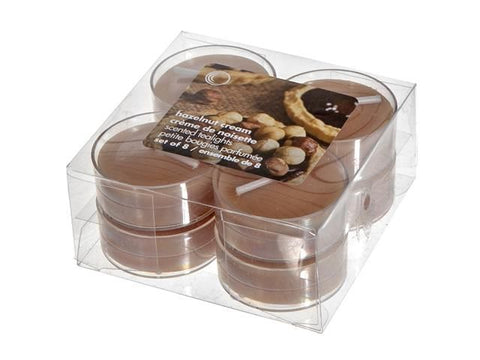 8pk Scented Tealights (Hazelnut Cream)