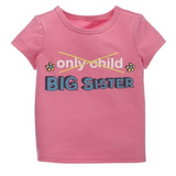 Kids T-Shirt - Big Sister, Cotton