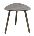 Grey Triangular MDF Table