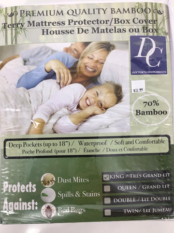 Terry Bamboo Mattress Protector