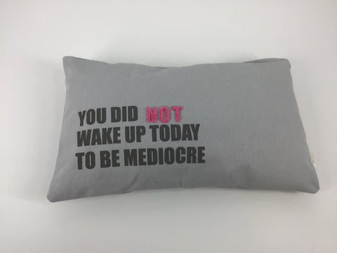 Mediocre pillow