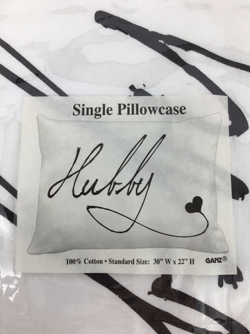 HUBBYPILLOWCASE COTTON
