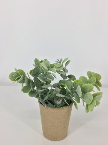 "3""D Paper Pot Artificial Plant"