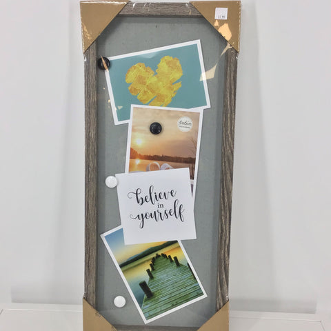 Vertical Wall Plaque, Organizer With Magnets