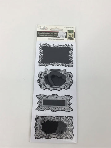 Chalkboard Label Stickers
