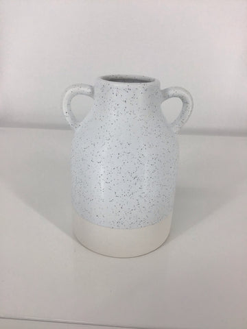 Farmhouse Modern Handle Vase 4x6""