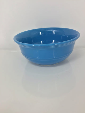 "Ceramic 9"" Blue Serving Bowl"