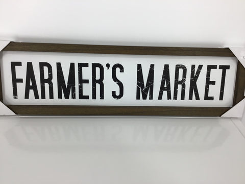 21x6 Farmers Market Sign