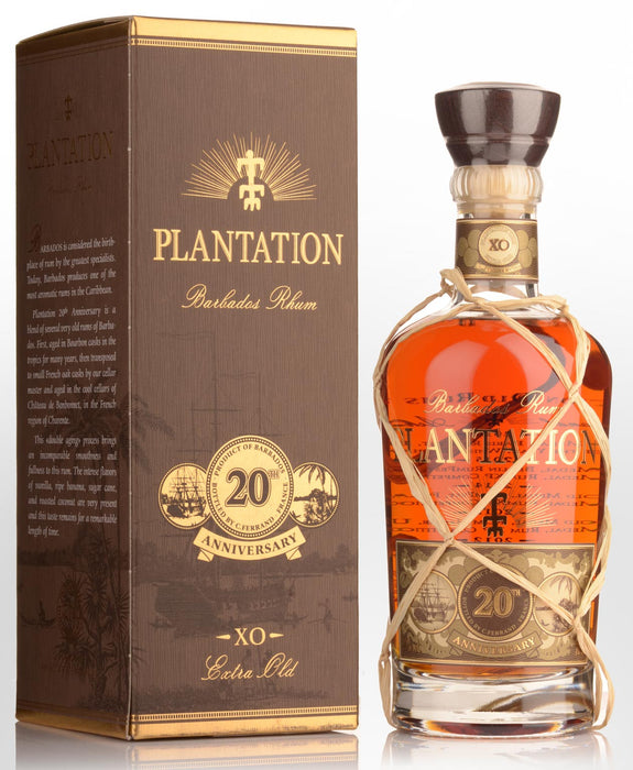 Plantation Rum Barbados Extra Old 20th Anniversary, 0,7 L, 40%