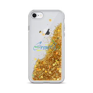 Growth - Liquid Glitter Phone Case