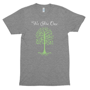 We Are One - Unisex Tri-Blend Track Shirt