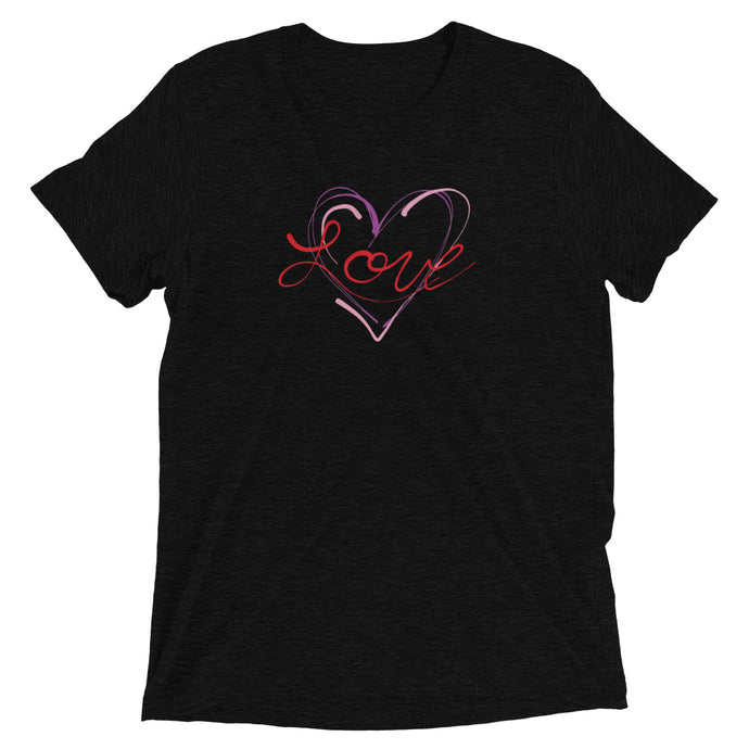 Love - Tri-blend Short Sleeve T-shirt
