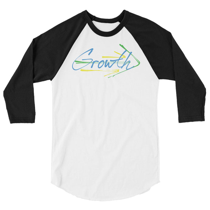 Growth - 3/4 Sleeve Raglan Shirt