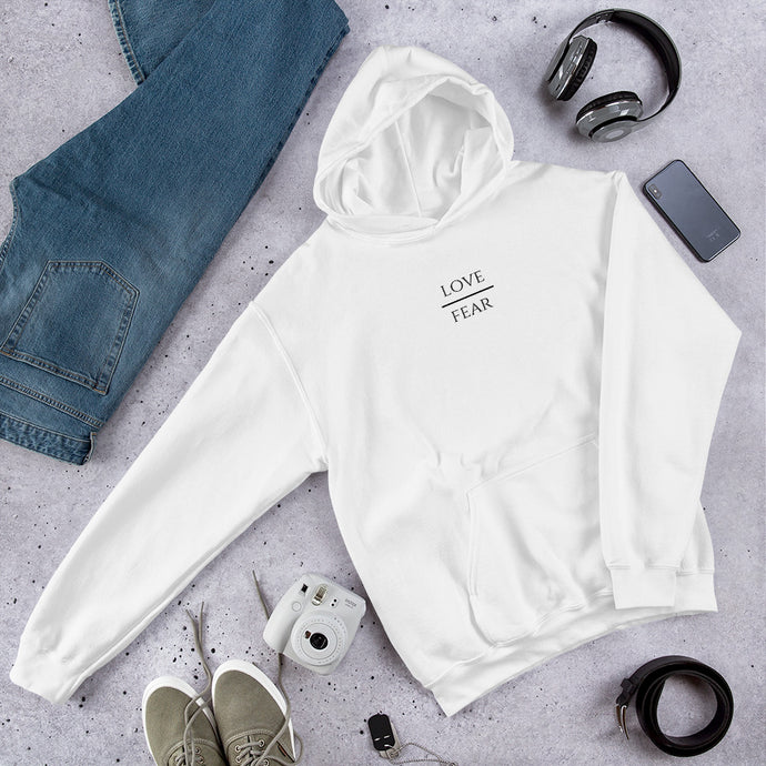 Love Over Fear - Premium Hoodie