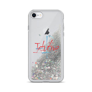 Intuitive - Liquid Glitter iPhone Case