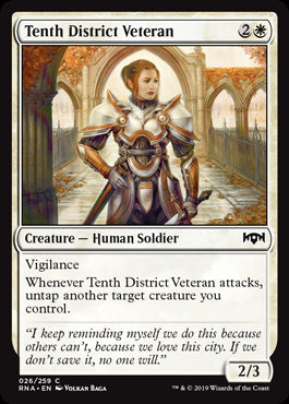 Tenth District Veteran
