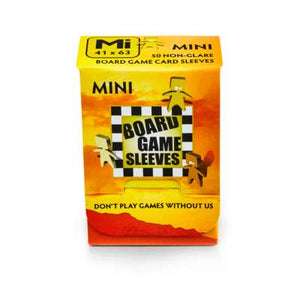 AT Non-glare Board Game Sleeves - Mini 41x63 (50)