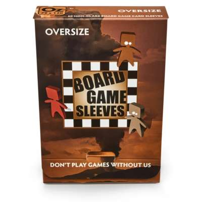 AT Non-glare Board Game Sleeves - Oversize 79x120 (50)
