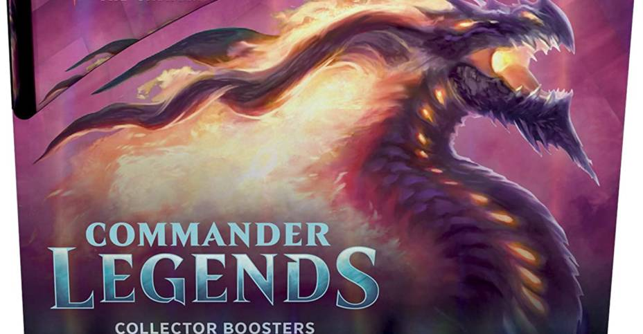 Pre-Order: Commander Legends Collector Booster Display