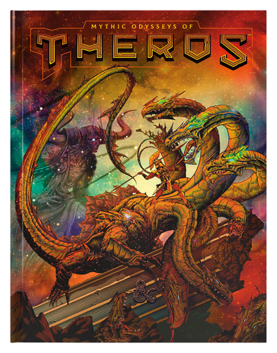 Mythic Odysseys of Theros (Alternate Cover)