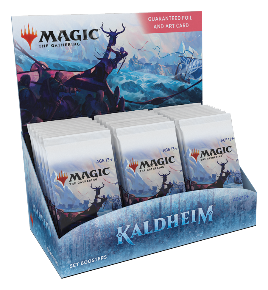 PRE-ORDER: Kaldheim - Set Booster Display