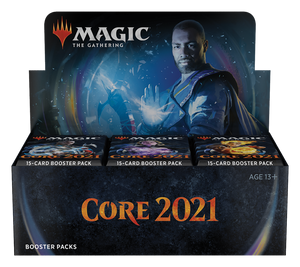 PRE-ORDER: Core 2021 Booster Display