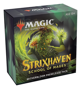 PRE-ORDER: Magic The Gathering Strixhaven School Of Mages Prerelease Pack - Witherbloom