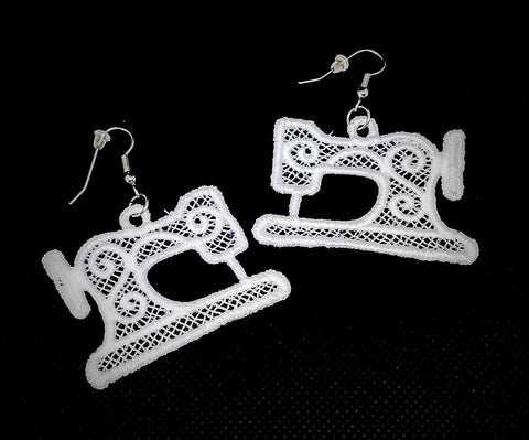 "FSL ""Sewing Machine"" Earrings"