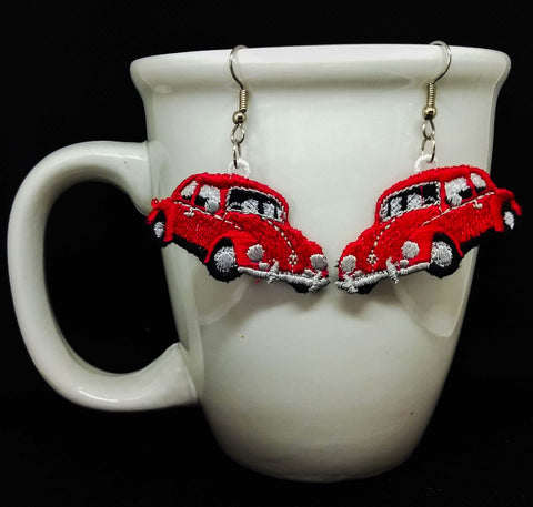 "FSL ""Beetle Car"" Earrings"