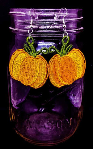 "FSL ""Pumpkin"" Earrings"