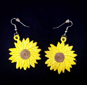 "FSL ""Sunflower"" Earrings"