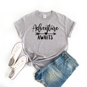 """Adventure Awaits"" T-shirt"