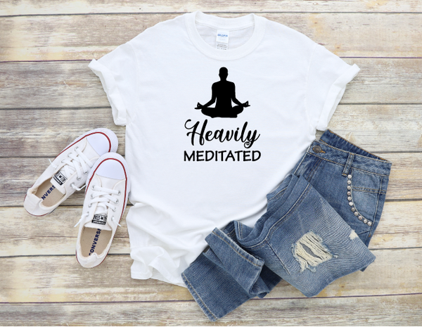 """Heavily Meditated"" T-shirt"