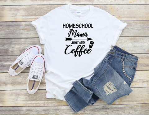 """Homeschool Mama"" T-shirt"